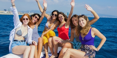 Cover for Bachelor boat party in Barcelona