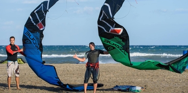 Cover for Advanced kitesurf lesson in Almería