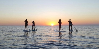Cover for Sunset stand-up paddle in Ibiza