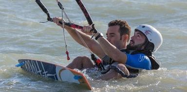 Cover for Kitesurfing course in Almería