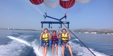 Cover for Parasailing in Mallorca