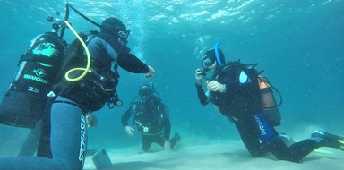 cover photo for Scuba diving in Sesimbra