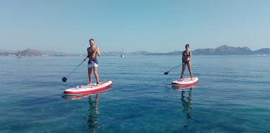 Stand-up paddle tour in Mallorca