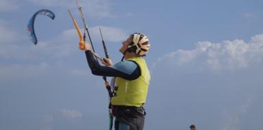 Private kitesurf lesson in Tarifa