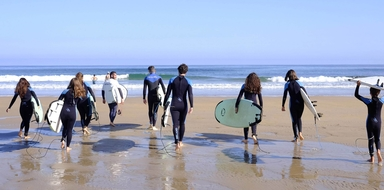 Surfing in Valencia