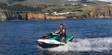 Jet Ski in Azores Cover