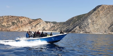 Boat tour to Cabo Espichel Cover