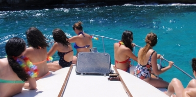 Private boat party in Mallorca