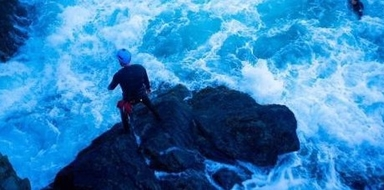 Coasteering by night in Mallorca