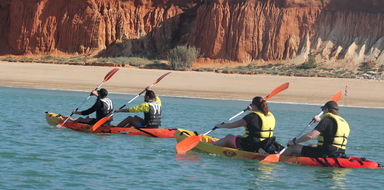Kayak tour in Vilamoura