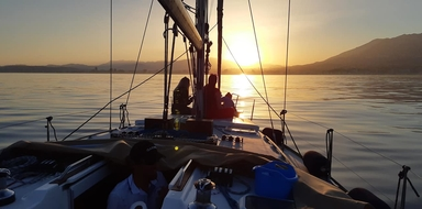 Cover for sunset sailing trip in Fuengirola