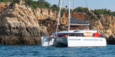 Romantic catamaran Lagos