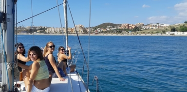 Cover for private sailing tour in Fuengirola