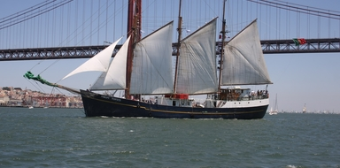 Sailing Yacht in Lisbon