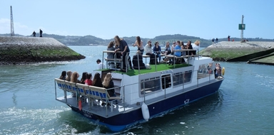 party boat in Lisbon