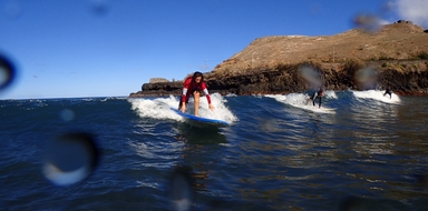 Surf in Madeira - around freedom - things to do in Madeira