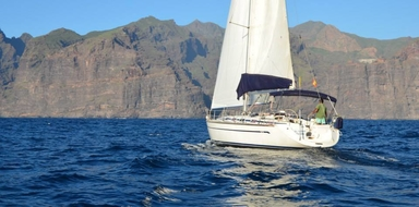 Cover for private sailing trip in Tenerife