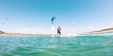 Learn Kitesurfing in Óbidos