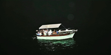 Charter at night on the Amalfi Coast Cover