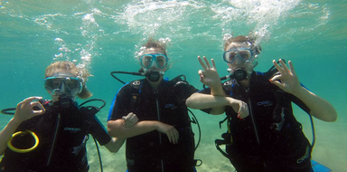 discover scuba diving in Athens Cover