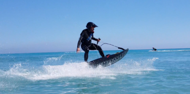Cover for jetsurf in Dénia