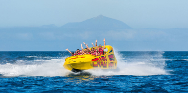 Cover for jet boat in Gran Canaria