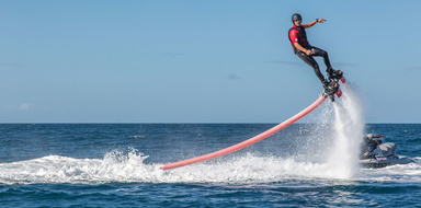 Cover for flyboard in Gran Canaria