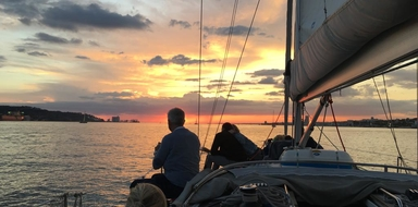 Private sunset sailing tour in Cascais Cover