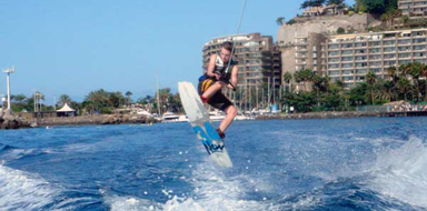 Cover for wakeboard in Gran Canaria