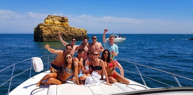 Luxury afternoon charter in Vilamoura Cover