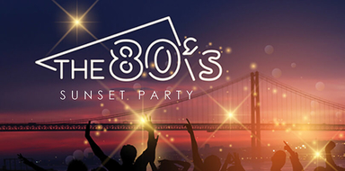 80's boat party in Lisbon