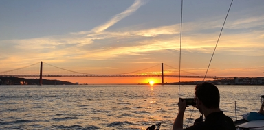 Lisbon sunset sailing experience