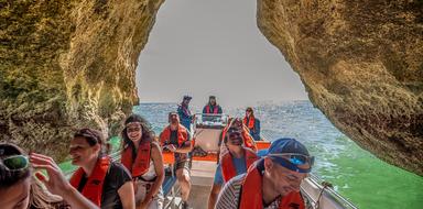 Benagil cave tours