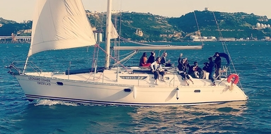 BBQ sailing in Lisbon