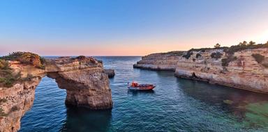 Benagil cave cruise in Albufeira