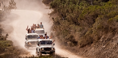 Jeep tour & river cruise in the Algarve