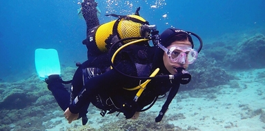 Discover scuba diving in Tenerife Cover