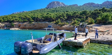 Private boat tour in Athens