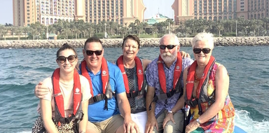 Dubai speedboat tour cover