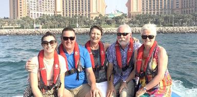 Dubai speedboat tour cover