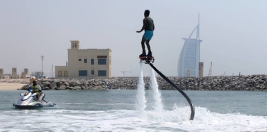 Flyboard in Dubai Cover