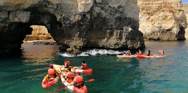 Ponta da Piedade Kayak and Boat tour