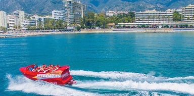 Jetboat in Marbella
