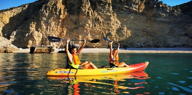 Kayaking in Sesimbra