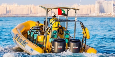 Speedboat sightseeing tour in Dubai