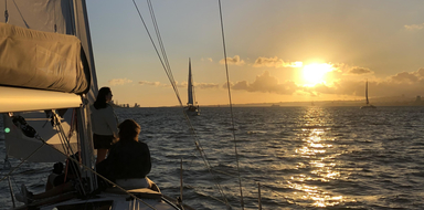 Enjoy a sunset in Lisbon on a private boat