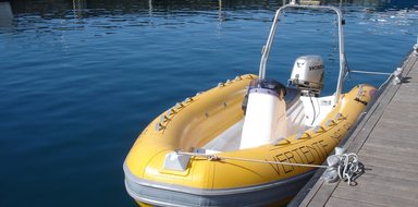 Private RIB boat in Sesimbra