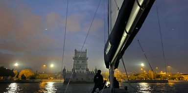 Night sailing tour in Lisbon