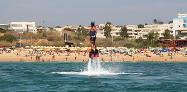 Flyboarding in Algarve