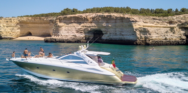Private yacht in Albufeira - afternoon